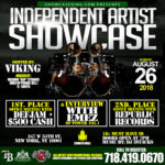 INDEPENDENT ARTIST SHOWCASE: AUGUST 26