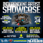 INDEPENDENT ARTIST SHOWCASE: MARCH 24