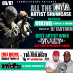 ALL THE WAY UP ARTIST SHOWCASE
