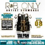 R&B ONLY ARTIST SHOWCASE
