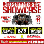 INDEPENDENT ARTIST SHOWCASE: NOV. 11