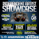 INDEPENDENT ARTIST SHOWCASE: DEC. 08