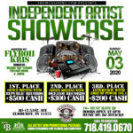 INDEPENDENT ARTIST SHOWCASE: MAY 3